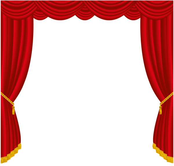 theater vector frame