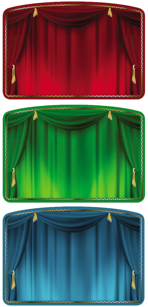 Theatre vector stage decoration. Cortinaje a scene pinterest