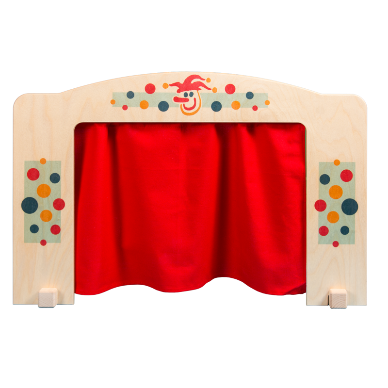 Curtains clipart puppet stage. Theater middle for cm