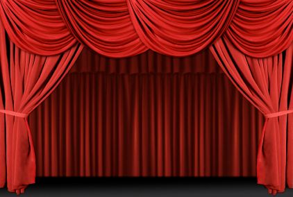 Curtains clipart puppet stage. Show theatre pinterest