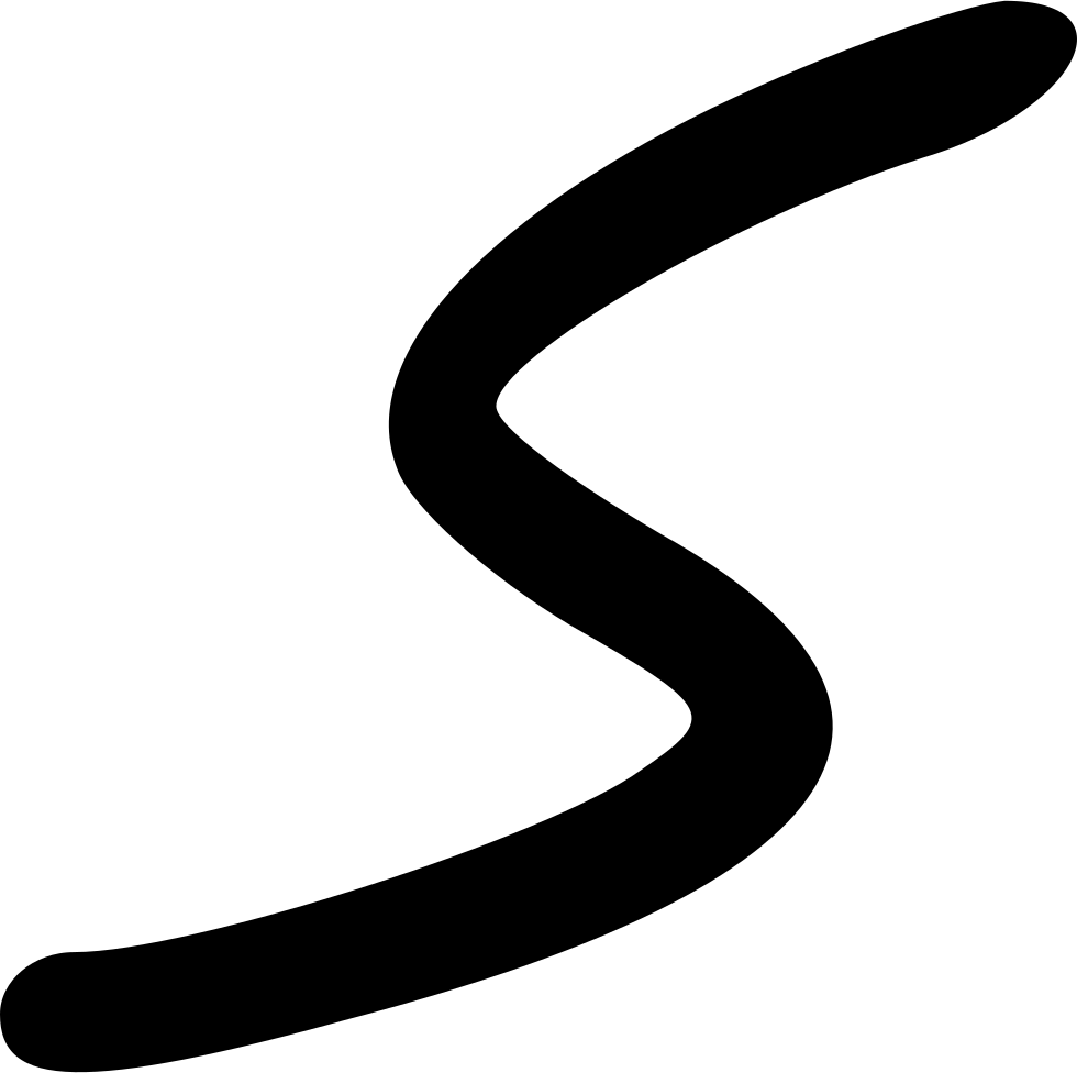 Curve line png. Vector svg icon free