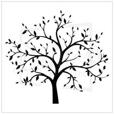 Curved clipart tree painting. Vector of with green