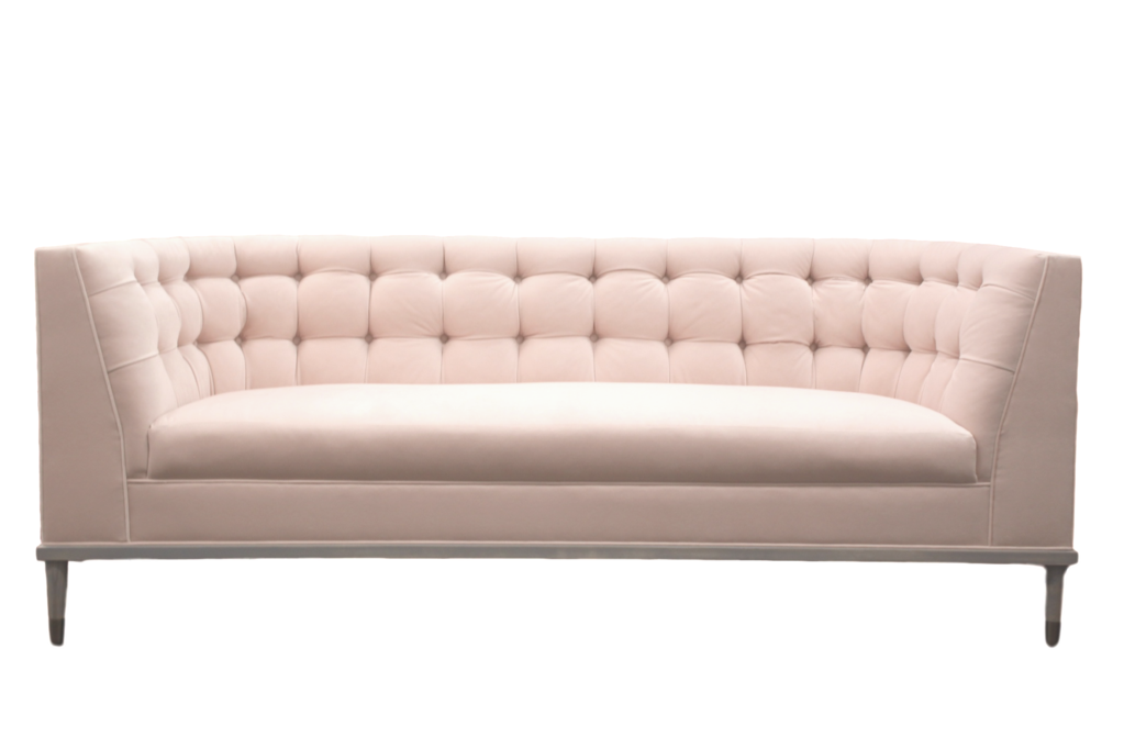 Curved couch png. Gisele sofa taylor burke