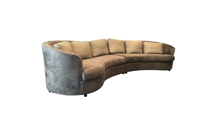 Curved couch png. Viyet designer furniture seating