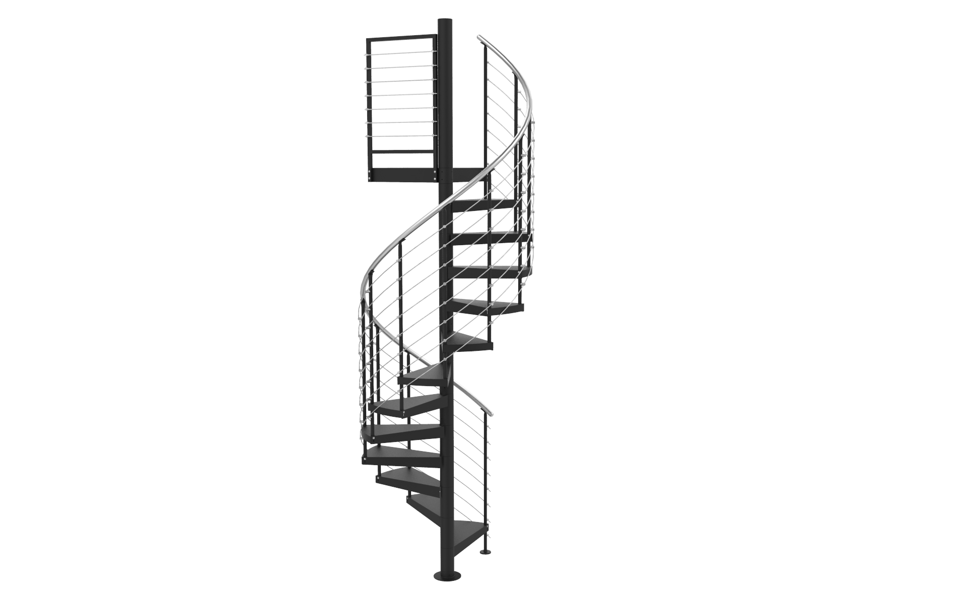 Curved Stairs Transparent & PNG Clipart Free Download - YA-webdesign