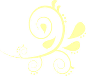 Curves vector yellow. Paisley clip art at