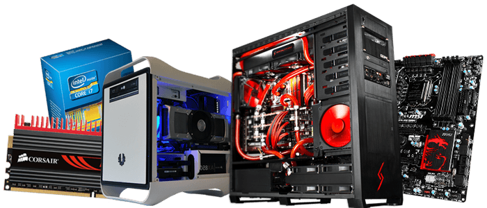 Custom built pc png. Build your own system