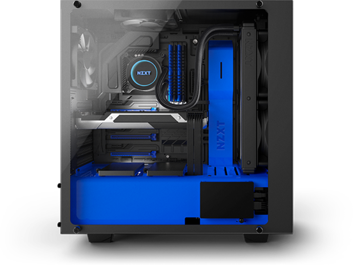 Bld build a nzxt. Custom built pc png png royalty free library