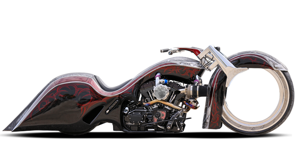 Custom motorcycle png. Ballistic cycles hublesspng