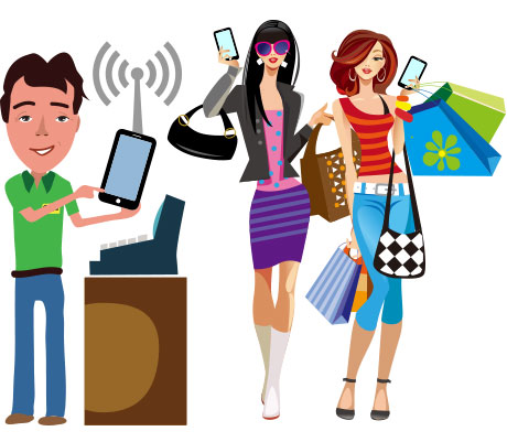 Increase loyalty retention with. Customer clipart customer shopping clip art free library