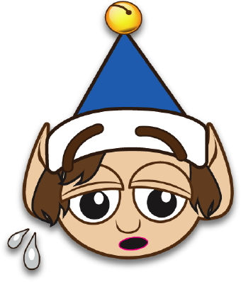 Customer clipart worried. Elf clip art panda