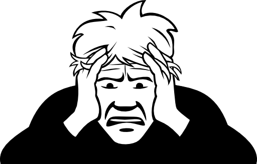 Customer clipart worried. I royalty free public