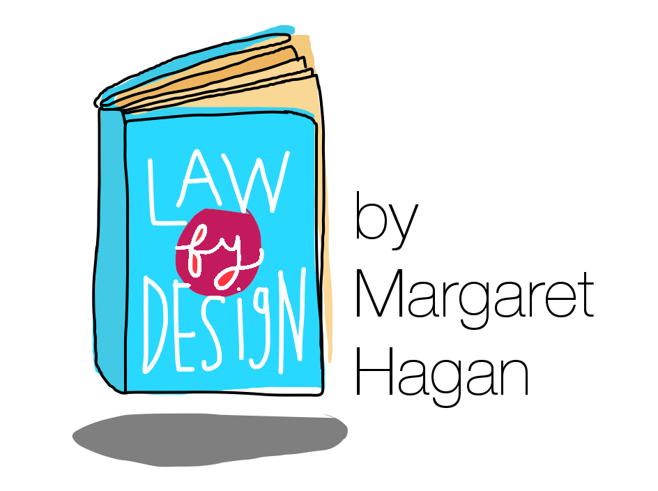 Law drawing book. Design process for