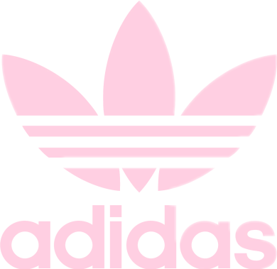Cute adidas logo png. Pink rosa sticker by