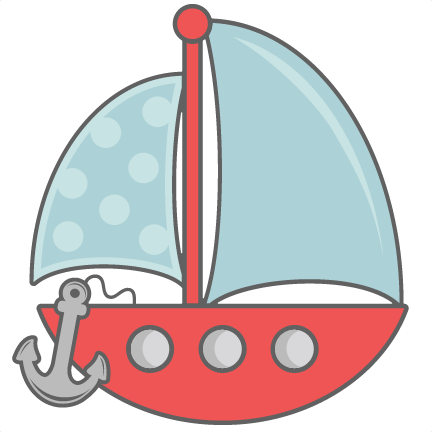 Cute anchor png. Sailboat with svg cut