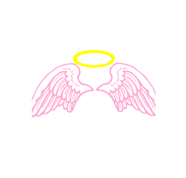 Cute angel png. Tumblr love sticker by