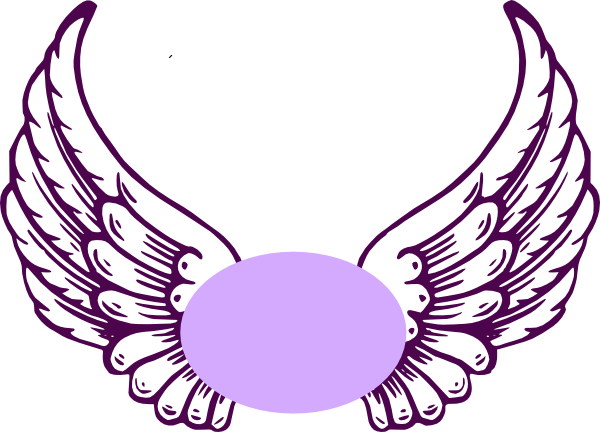 Angel Wings With Halo Svg Free