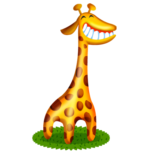 Cute animals png. Icon