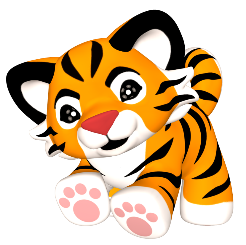 Cute animal png. Tiger free icons and