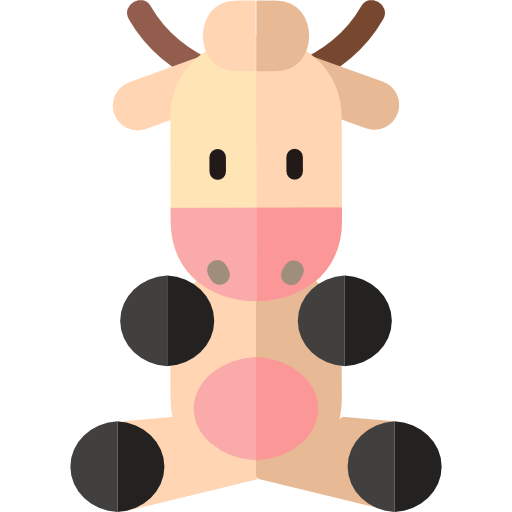 Cute animals png. Icon svg