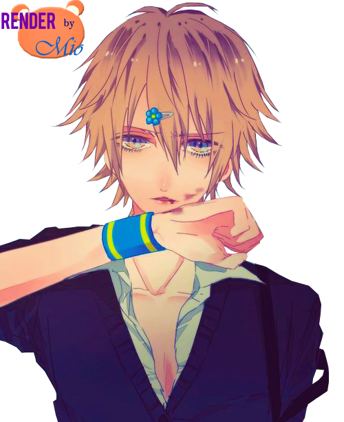 Cute anime boy png. Render by mioa on