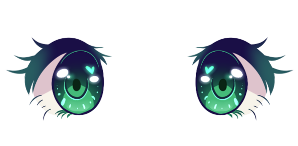 Kawaii eye png. Anime eyes by djdupstep