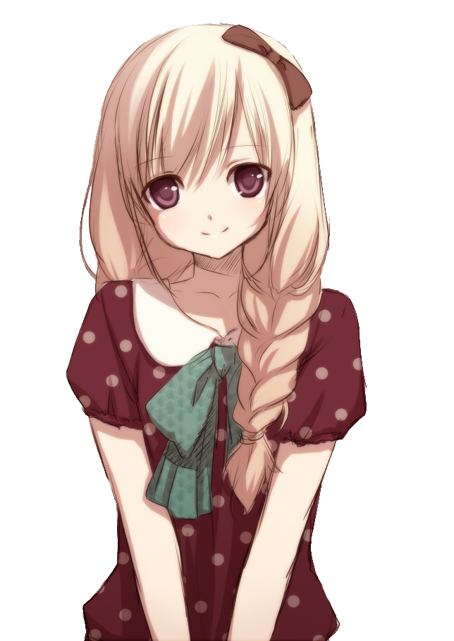Cute anime girl png. By natsi on deviantart