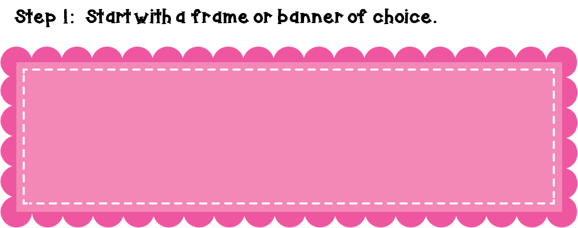Cute banner png. How to make a