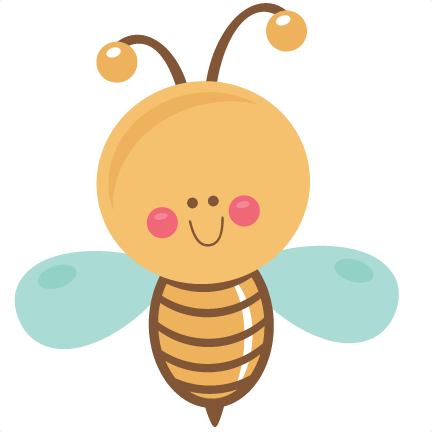 Cute bee png. Happy svg scrapbook cut