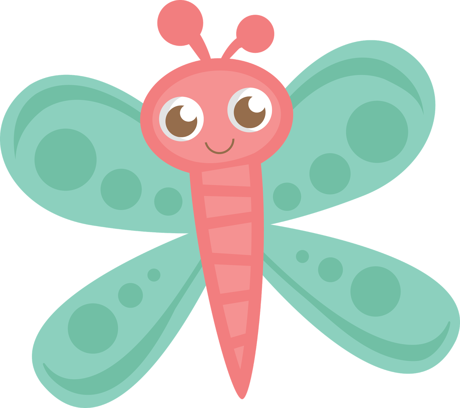 Vector insects cute. Butterflies png transparent image