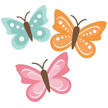 collection of clipart. Cute butterfly png svg transparent library