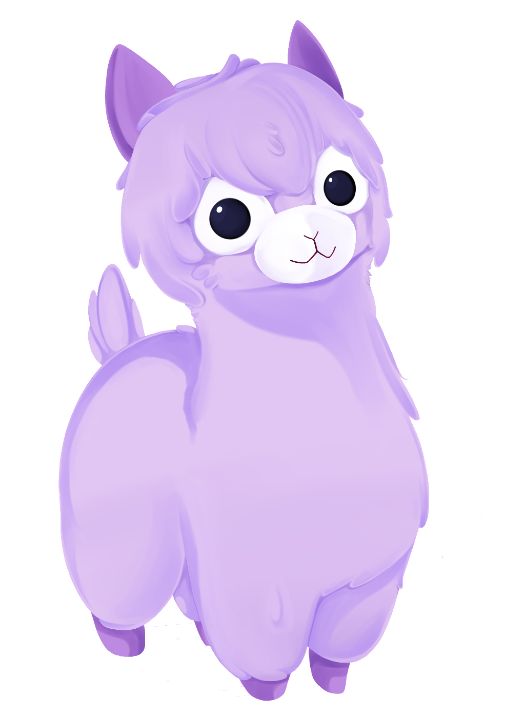 Cute cartoon llama png. Image astro alpaca mathprodigy