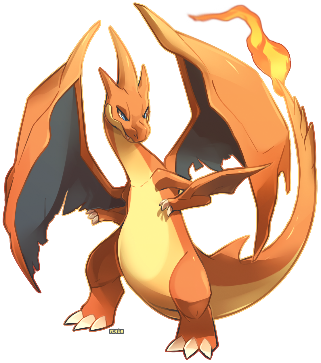 charizard vector animated
