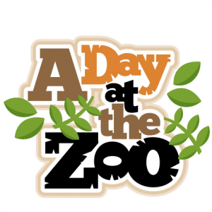 A day at the. Cute clipart zoo vector royalty free download