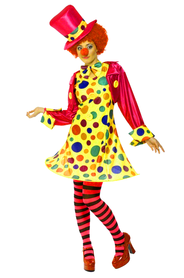 female clown png