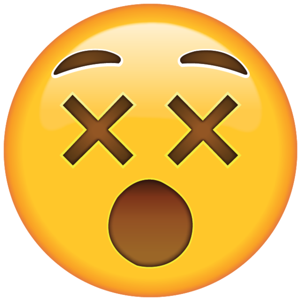 Cute confused sticker png. Feeling dizzy from confusion