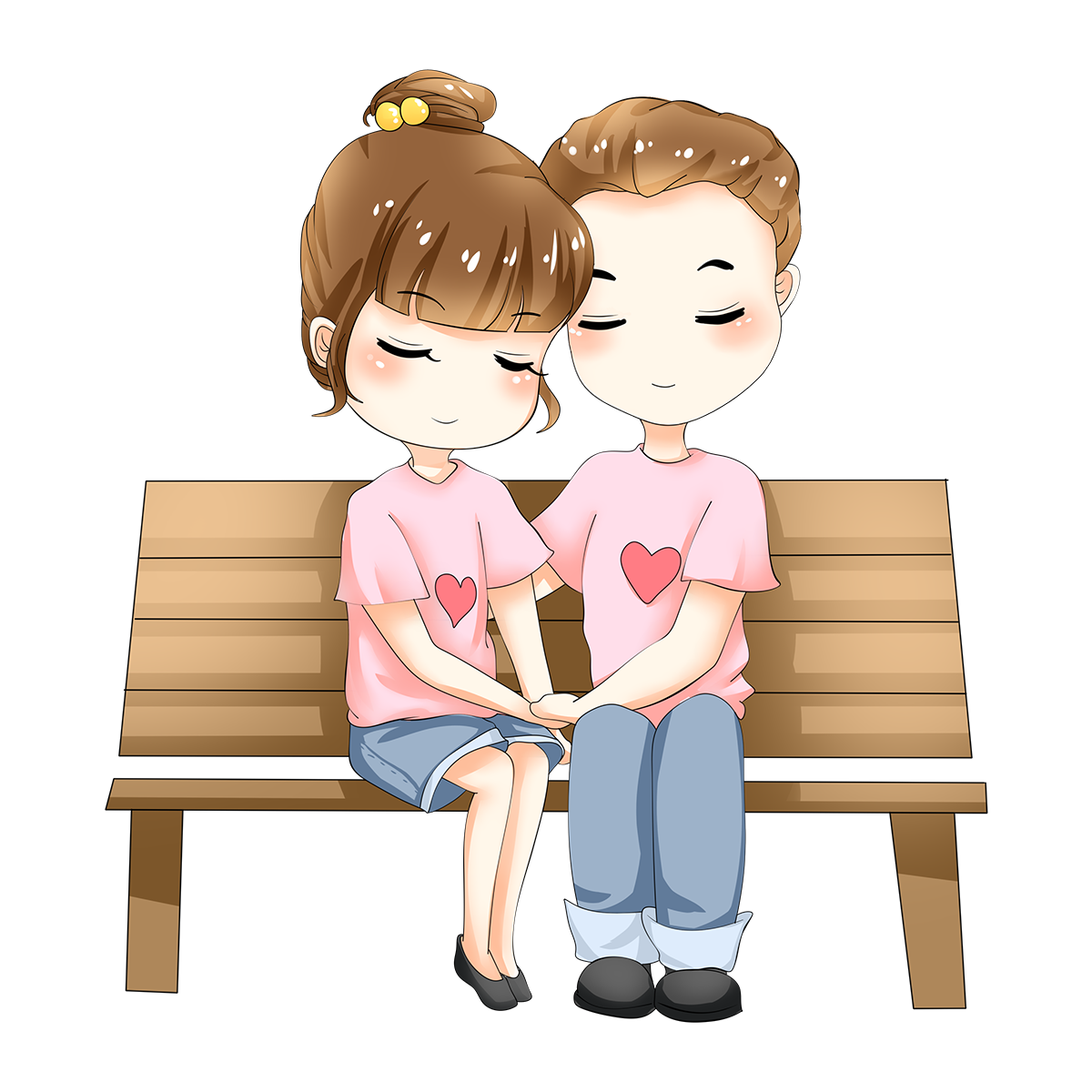 Cute couple png. Valentines day image free