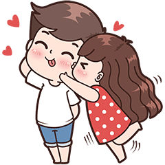 Cute couple png. Boobib couples for girl