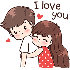 Cute couple png. Image