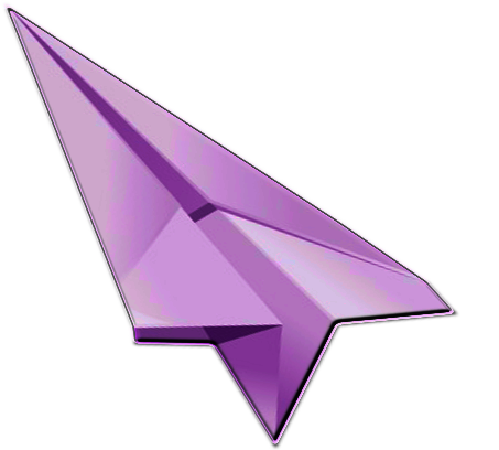 Cute cursor png. Paper airplane by leocervas