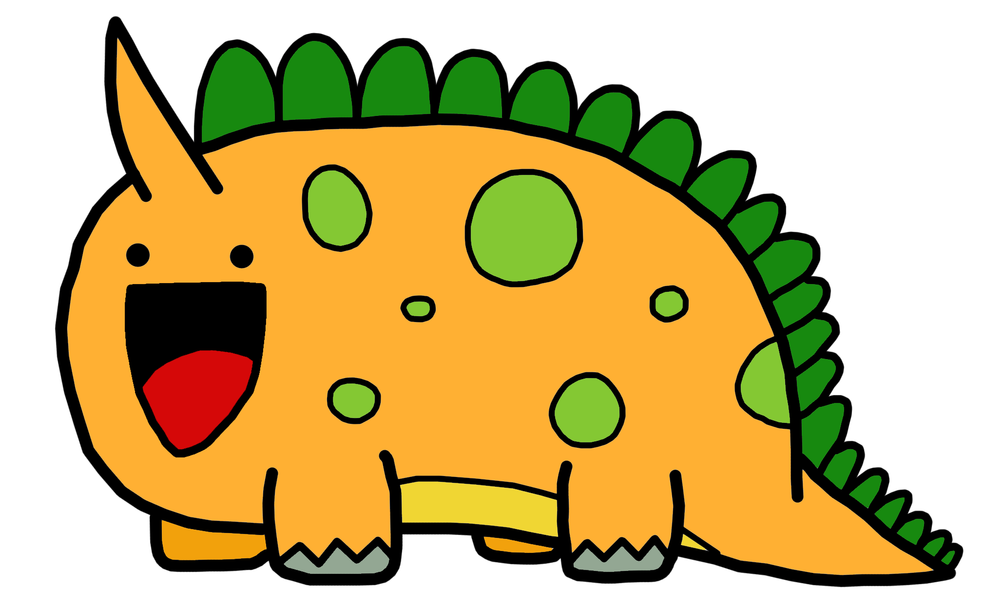 Cute dinosaur png. Dinosaurs animated by easterbonnie