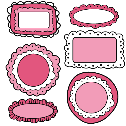 Cute doodle frame png. Collection of clipart