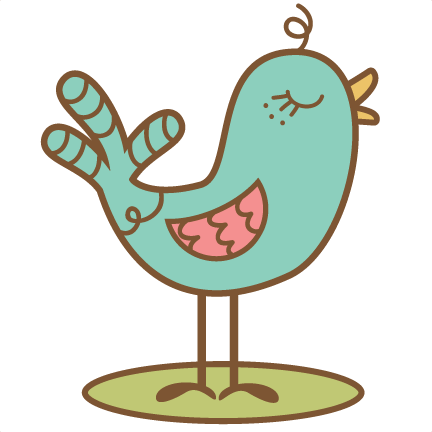 Cute doodle png. Bird svg cutting file