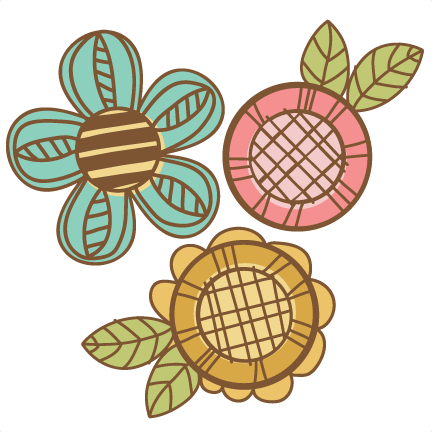 Cute doodle png. Flowers svg cutting files