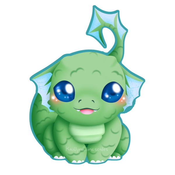 Cute dragon png. Baby by clinkorz on