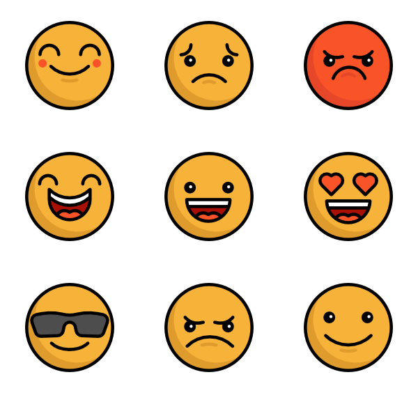L emoji png. Icon packs vector