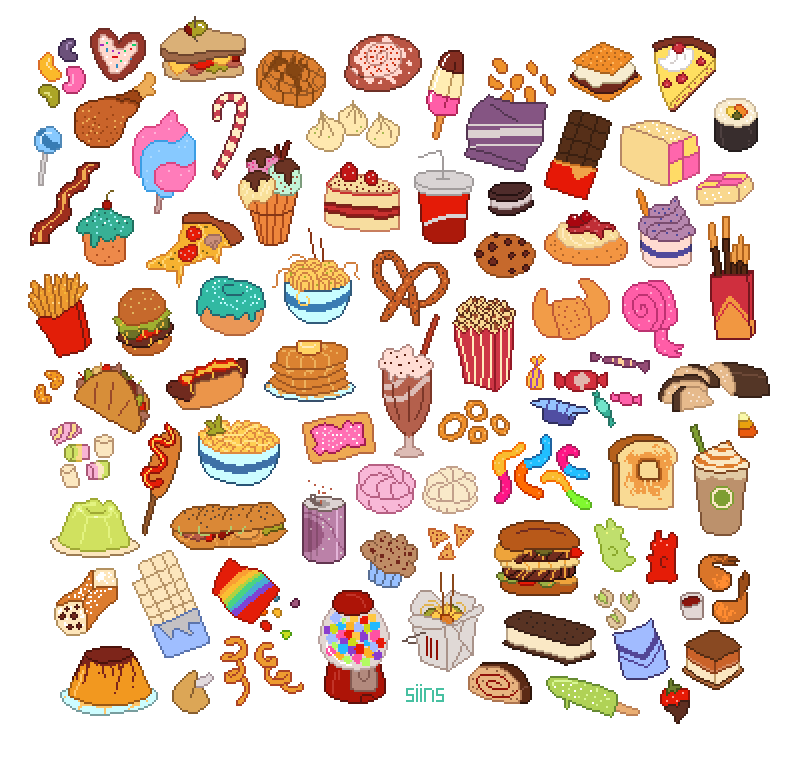 Cute food png. Clipart collection free icons
