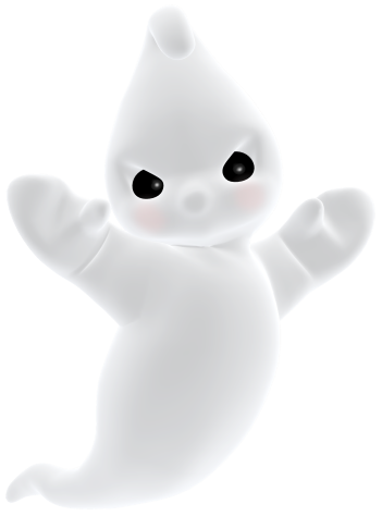 Cute ghost png. D angry clipart