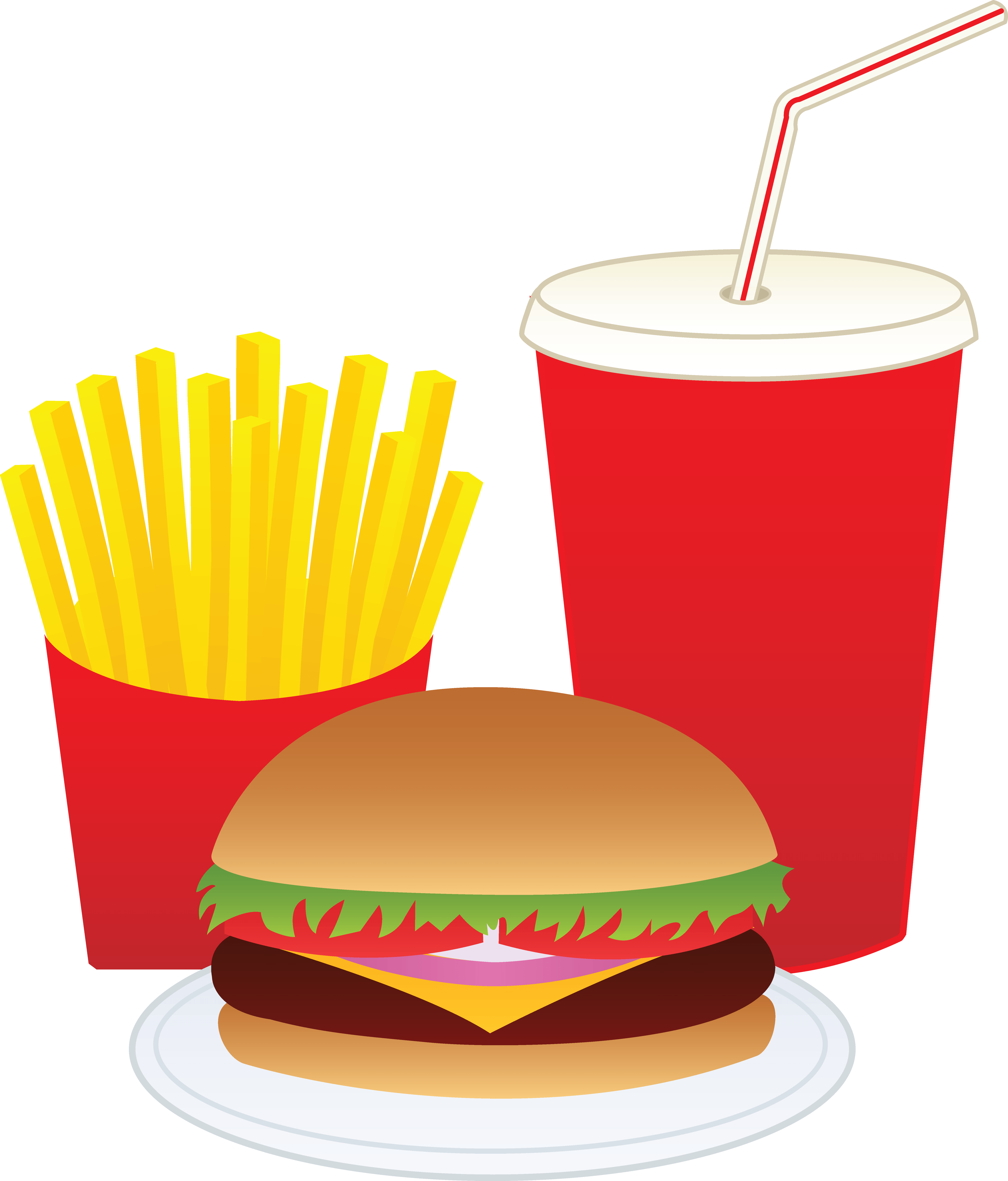 Cute hamburger and fries png. Best free wallpapers