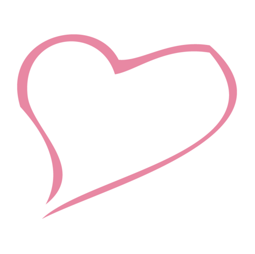 Pink heart outline png. Image cute animal jam